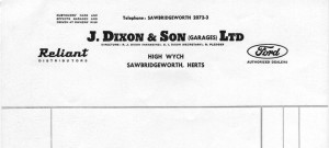 65 or so dixons letterhead001