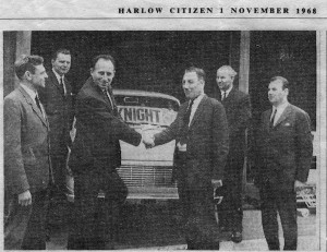 68 dixons gets wartburg agency Harlow citizen 1-11-68 -8