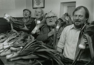 rising sun  leek competition ltr nigel rivers, fred kempthorne, unknown
